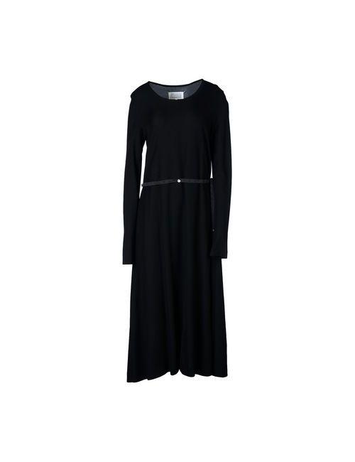 Maison Margiela | Женское Чёрный Платье Длиной 3/4