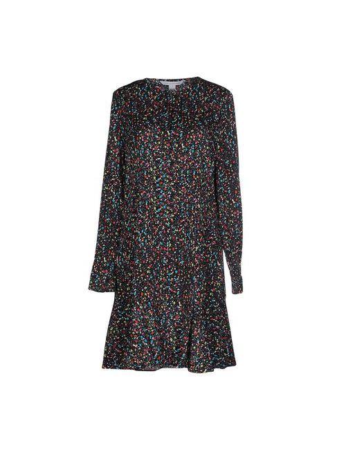 Diane Von Furstenberg   Женское Черный Короткое Платье