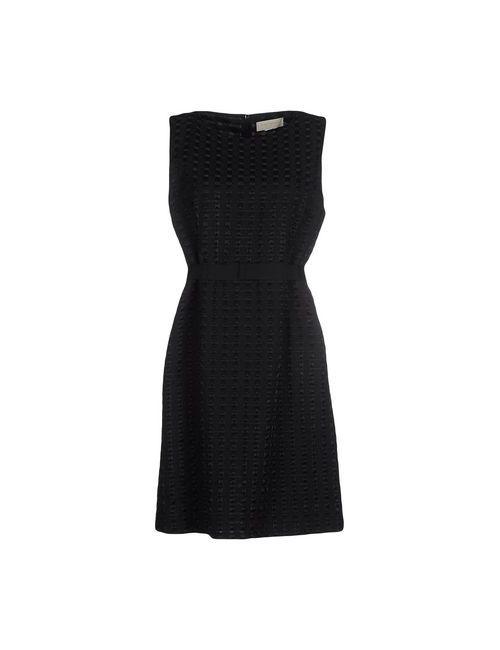 L' Autre Chose   Женское Чёрное Короткое Платье