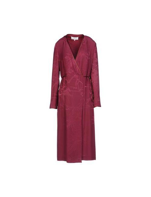Maison Margiela | Женское Фиолетовое Платье До Колена