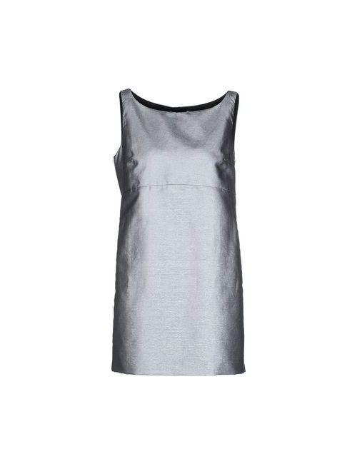 Mauro Grifoni | Женское Серое Короткое Платье