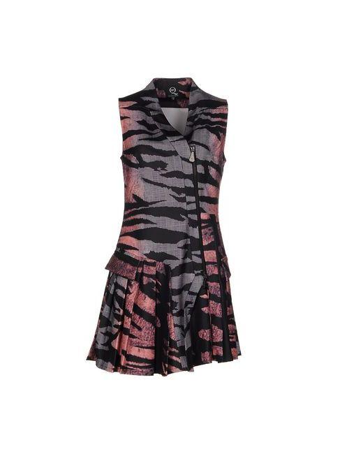 Mcq Alexander Mcqueen | Женское Серое Короткое Платье
