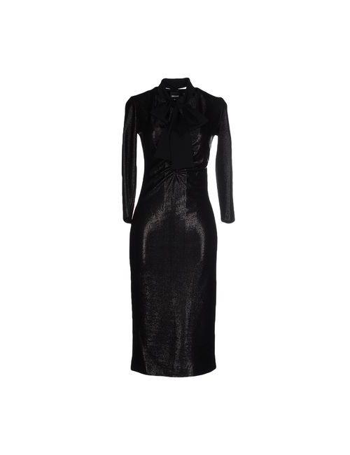 Just Cavalli | Женское Черный Платье До Колена