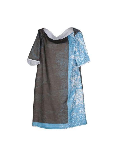 Jil Sander Navy | Женское Серое Короткое Платье