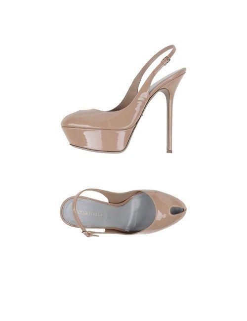 Sergio Rossi | Женские Телесные Туфли