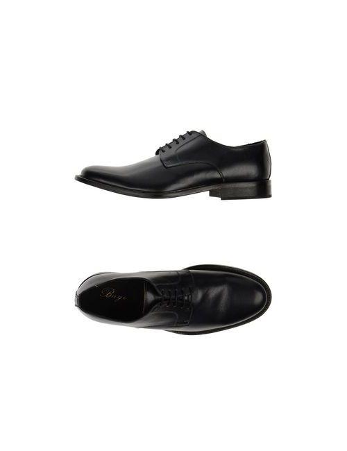 BAGE | Мужская Синяя Обувь На Шнурках