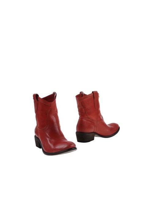 Frye | Мужские Красные Полусапоги И Высокие Ботинки