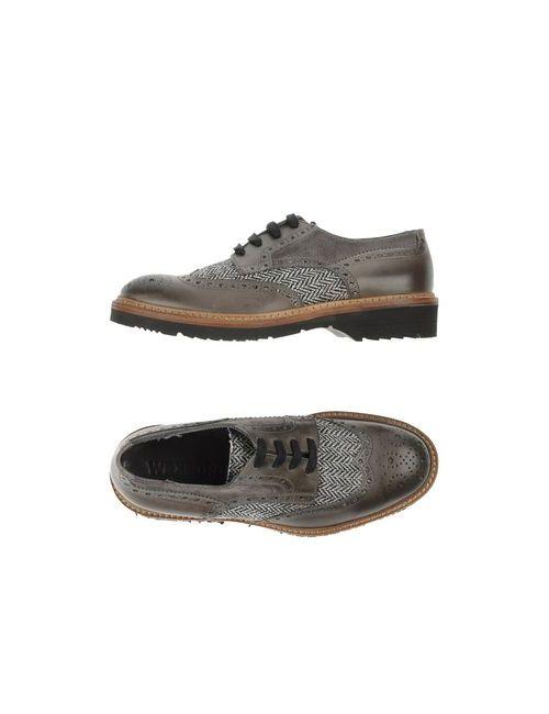 Wexford | Мужская Серая Обувь На Шнурках
