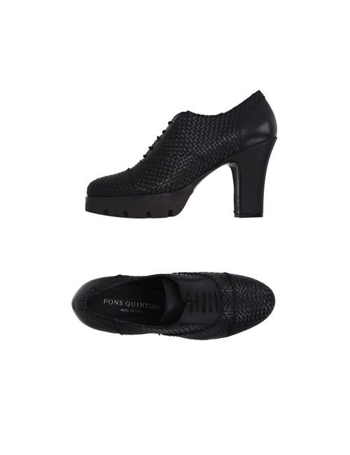 Pons Quintana | Мужская Чёрная Обувь На Шнурках