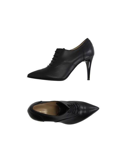 Stele | Мужская Черный Обувь На Шнурках