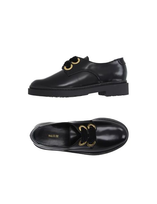 Paul & Joe   Мужская Чёрная Обувь На Шнурках