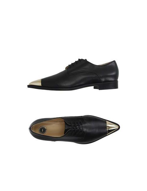 ELISABETTA FRANCHI | Мужская Черный Обувь На Шнурках