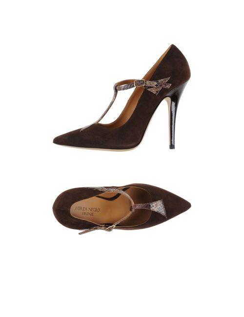 MIREA NEGRO | Женские Коричневые Туфли