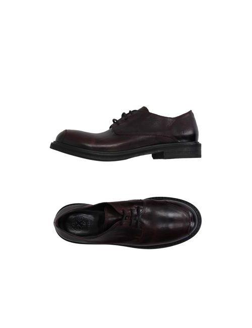 O.X.S. | Мужская Баклажанная Обувь На Шнурках
