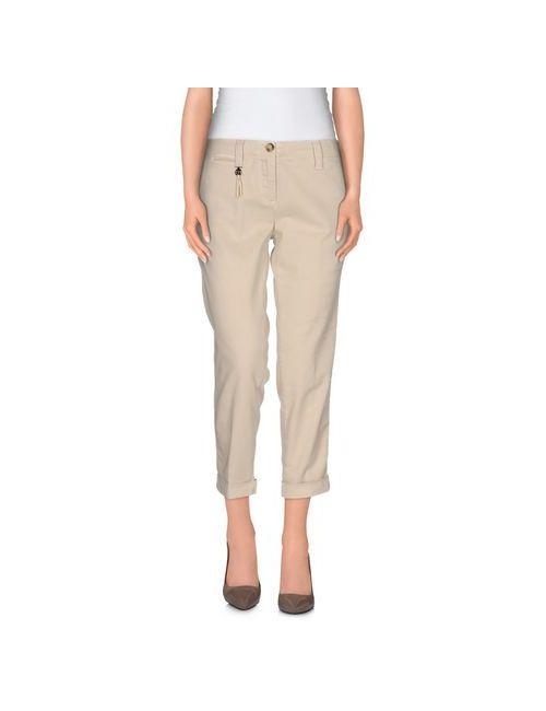 Trussardi Jeans | Женские Бежевые Брюки-Капри