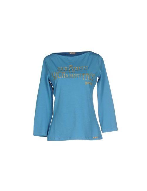 Galliano | Женская Голуба Футболка