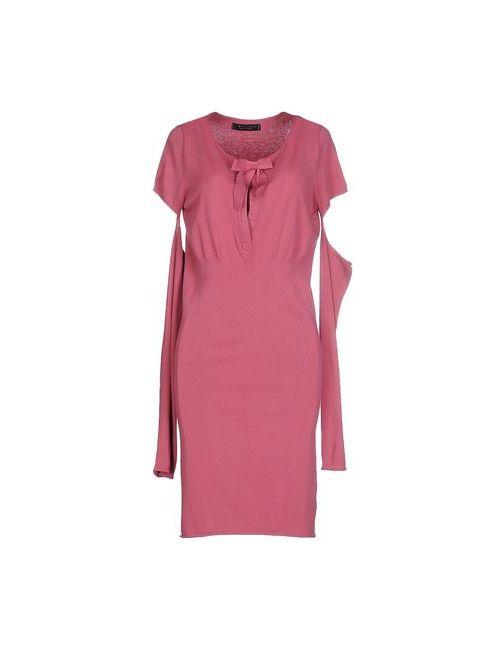 Twin-Set Simona Barbieri   Женское Розовое Короткое Платье