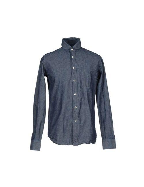 Fabio Quaranta | Женская Синяя Джинсовая Рубашка