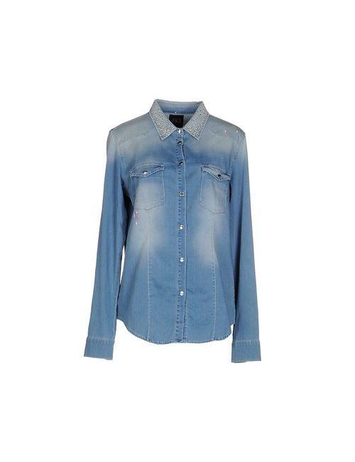 Twin-Set Jeans | Женская Синяя Джинсовая Рубашка