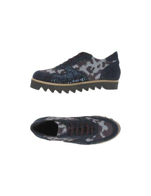 Le Stelle | Мужская Синяя Обувь На Шнурках