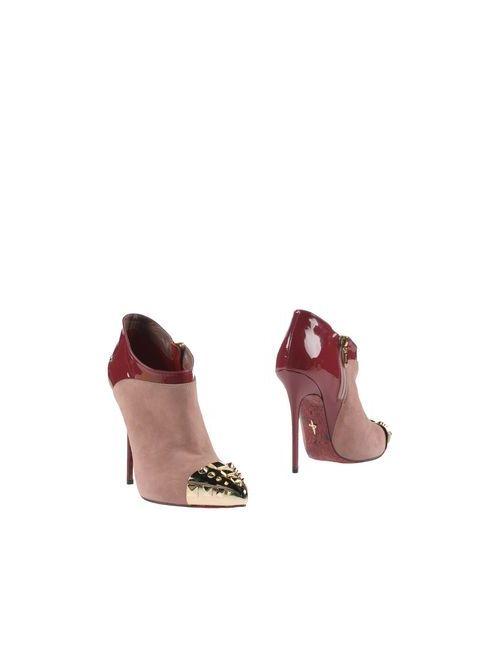 Cesare Paciotti | Женские Фиолетовые Ботинки