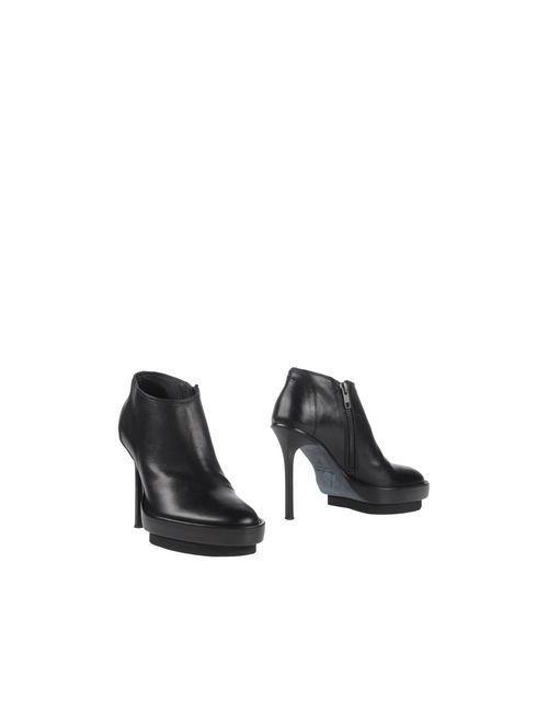 Ann Demeulemeester | Женские Чёрные Ботинки