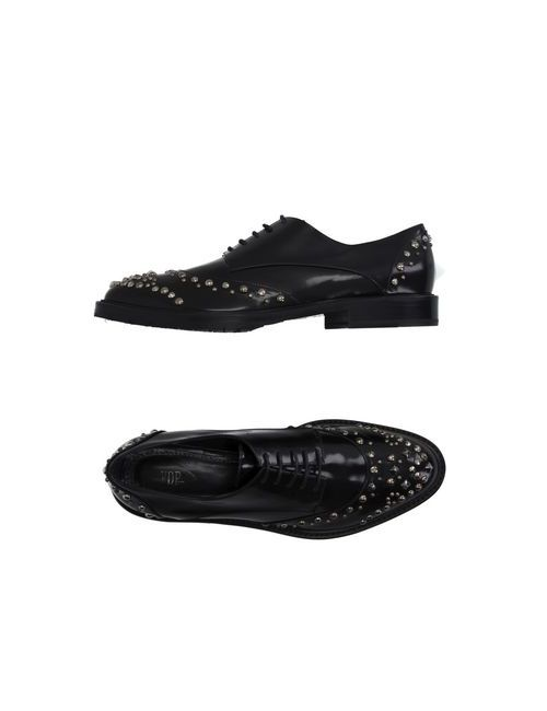 Vdp Collection | Мужская Черный Обувь На Шнурках