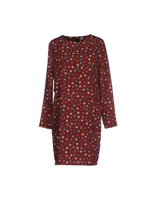 Angela Mele Milano | Женское Какао Короткое Платье