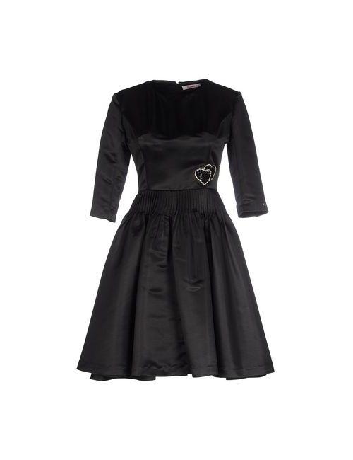 Blugirl Folies | Женское Чёрное Короткое Платье