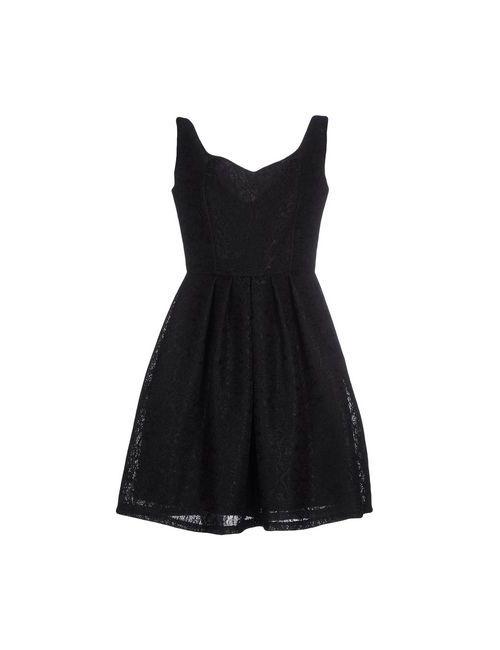 Angela Mele Milano | Женское Чёрное Короткое Платье