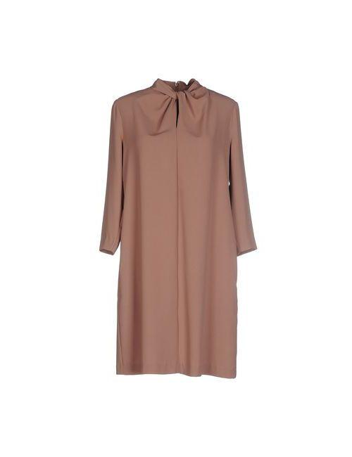 Blugirl Folies | Женское Коричневое Короткое Платье