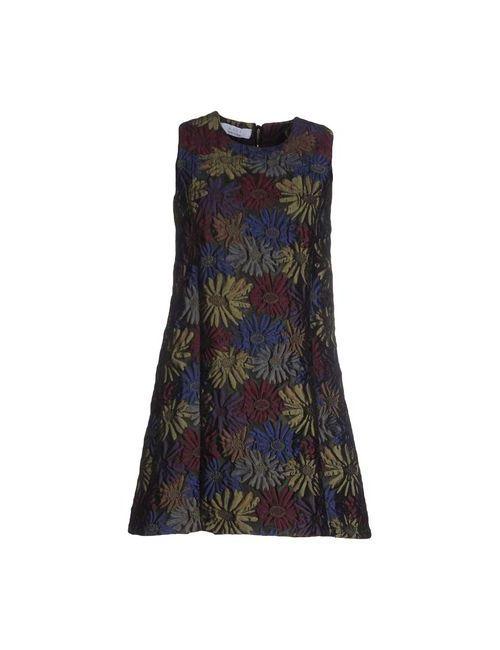 Kaos | Женское Зелёное Короткое Платье