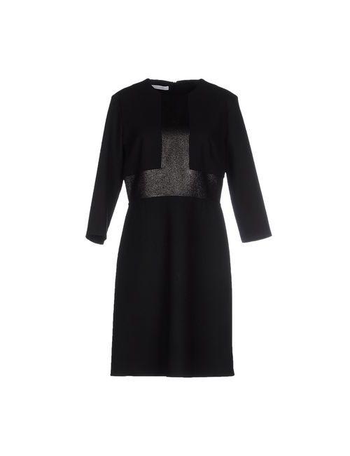 Les Copains | Женское Чёрное Короткое Платье