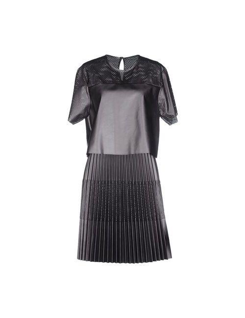Space Style Concept   Женское Серое Платье До Колена