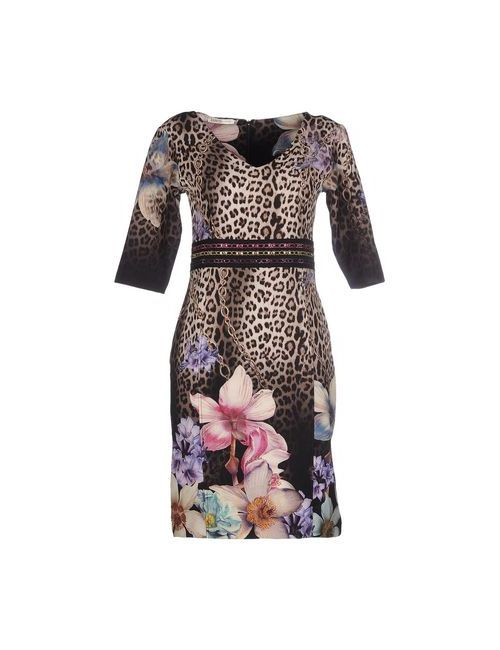 Ean 13 | Женское Бежевое Короткое Платье