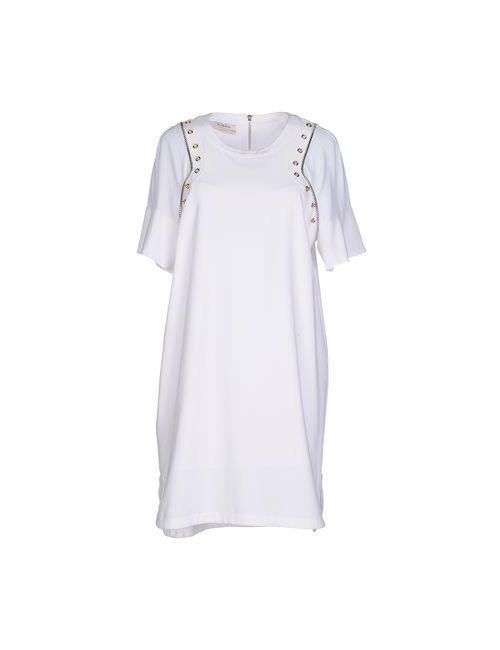 Pinko | Женское Белое Короткое Платье