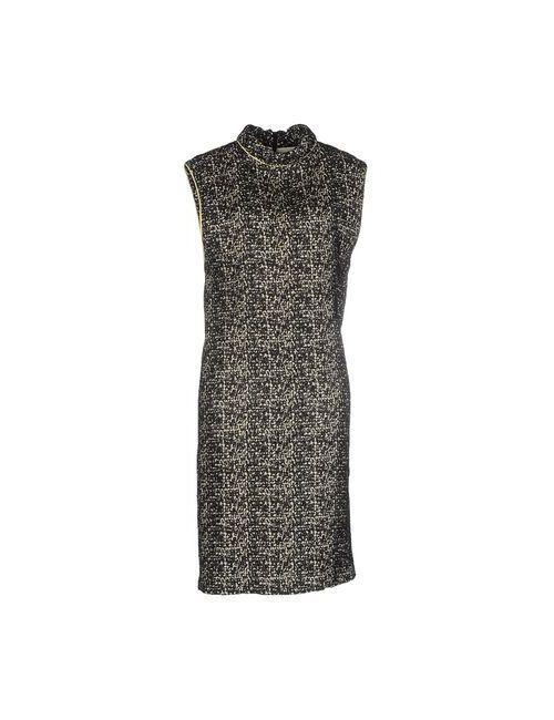 GLASSA   Женское Черный Платье До Колена