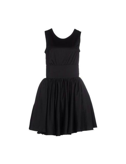 Odi Et Amo | Женское Чёрное Короткое Платье