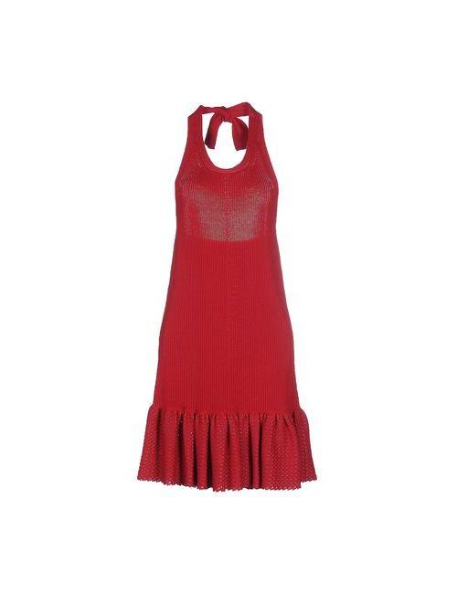 Red Valentino | Женское Фиолетовое Платье До Колена