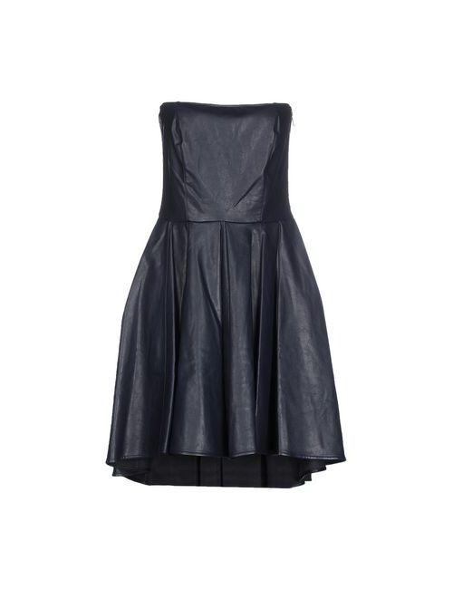 Jijil | Женское Синее Короткое Платье