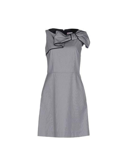 Red Valentino | Женское Синее Короткое Платье