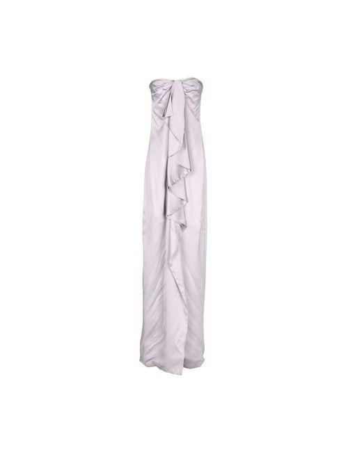 Valentino Roma | Женское Фиолетовое Длинное Платье