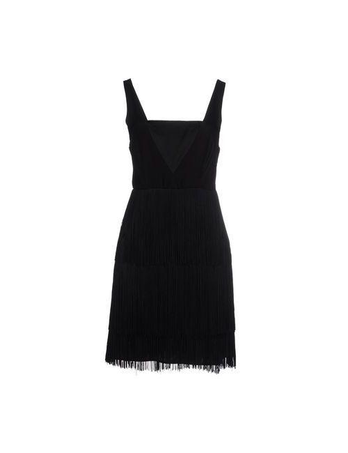 Naf Naf   Женское Чёрное Короткое Платье