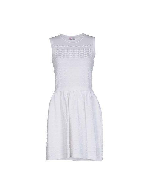 Red Valentino | Женское Белое Короткое Платье