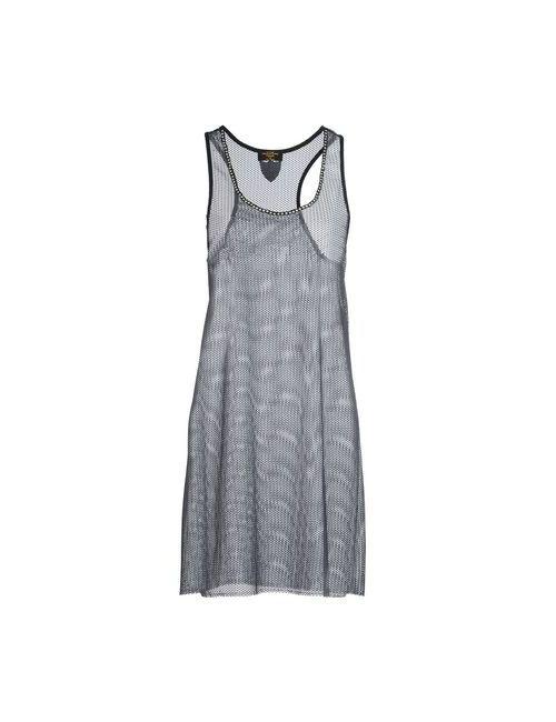 HTC | Женское Серое Короткое Платье
