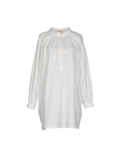 Momoní | Женское Белое Короткое Платье