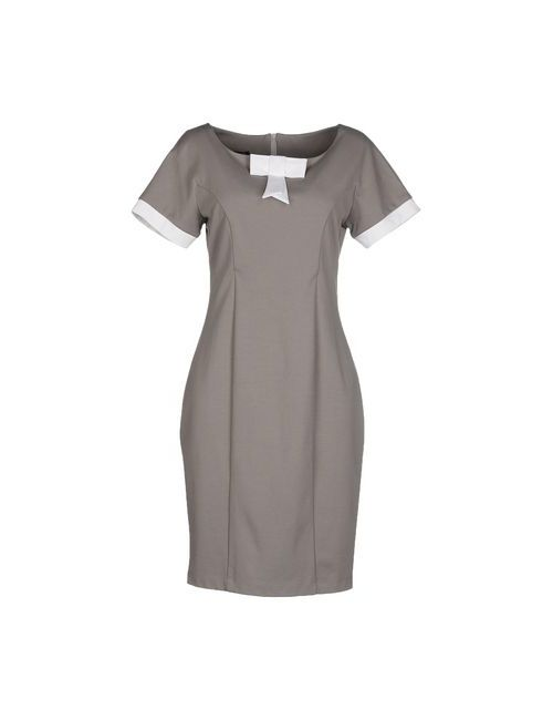 GIORGIA U. | Женское Серое Короткое Платье