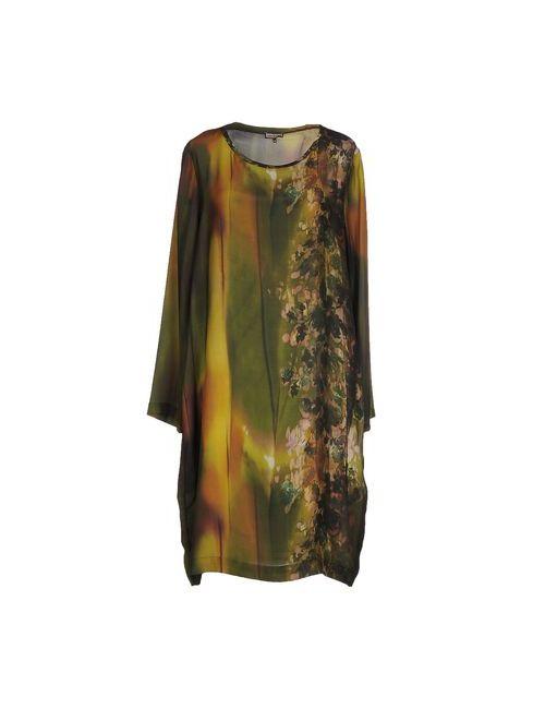 Maliparmi | Женское Зелёное Короткое Платье