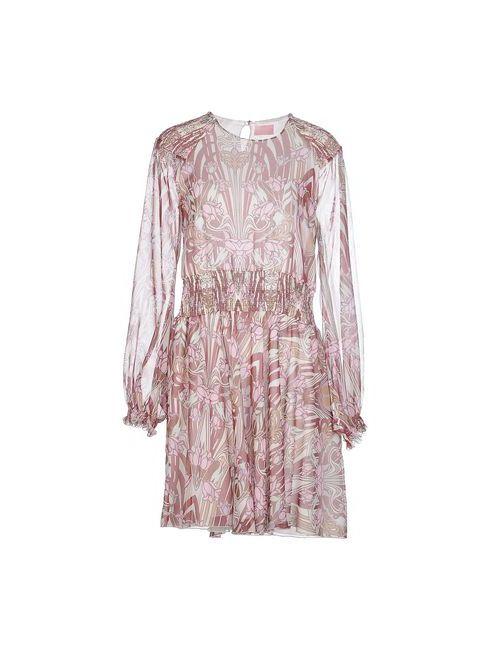 GIAMBA | Женское Розовое Короткое Платье