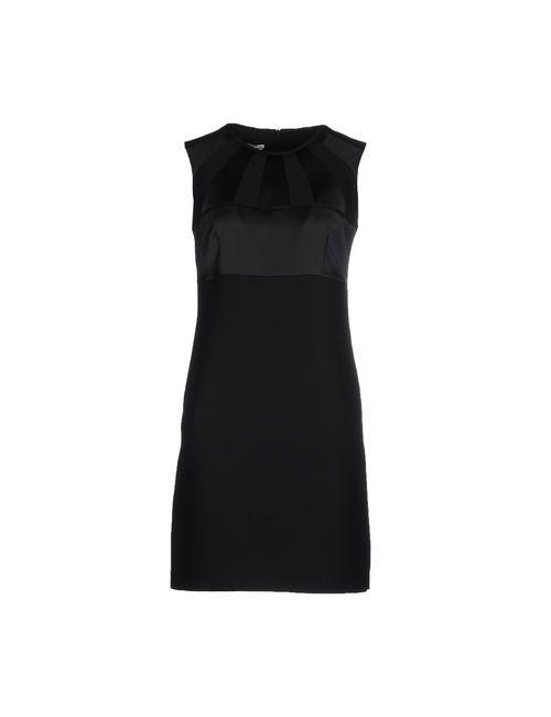 Biancoghiaccio | Женское Черный Короткое Платье